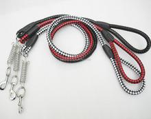 levels adjustmentPU leather Dog Collar pet Collars