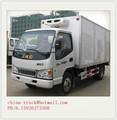Camiones de transporte refrigerado, transporte de refrigeración, camion frigorifico van para la carne y el pescado