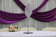 Special candelabra crystal table centerpiece with LED light for wedding event party