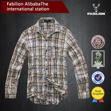 OEM 2015 new product from china factory,men cotton designed shirt