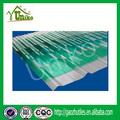 Ge lexan 2mm gruesa de color blanco lechoso cochera uv- protegido de tailandia policarbonato corrugado hoja para tragaluz