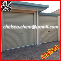 electrically operated remote garage roller shutter