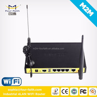 powerline communication plc modem Router with sim slot & 4 LAN ports support VPN & TCP/IP F3434 for wifi hotspot application