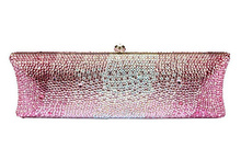 Top quality LUXURY South Africa diamond Crystal evening bag party clutch bag