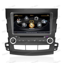 for Mitsubishi Outlander touch screen car dvd parts with gps navigation system