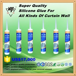 High performance silicone silicon glass glue for aluminium Curtain Wall