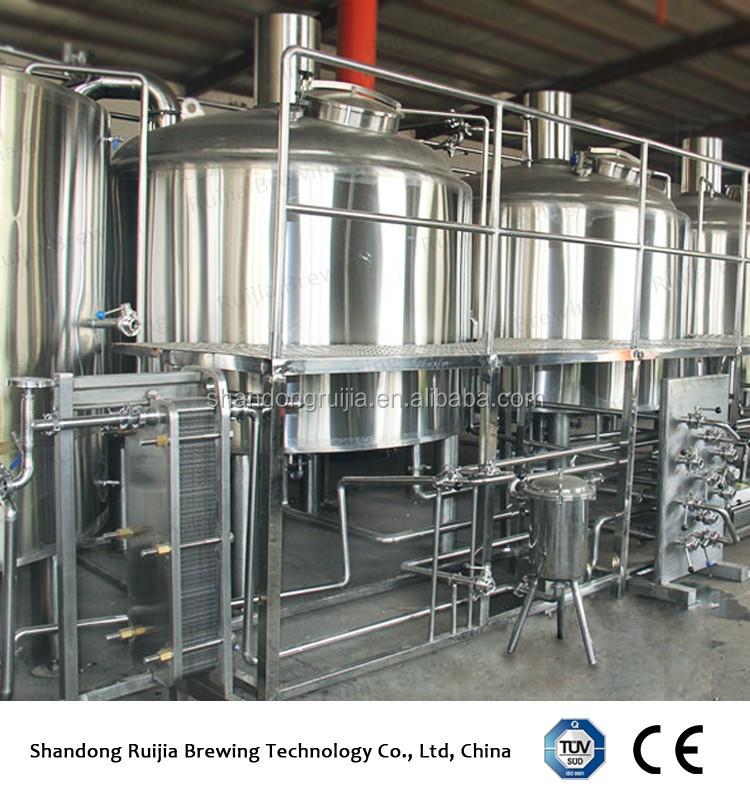 RJ-2000L equipamento da cerveja de alta qualidade Fermentação