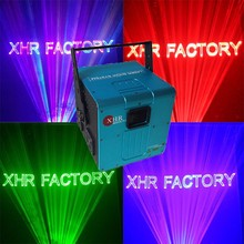 Professional decoration beam laser lighting show 3d rotating effect stage light