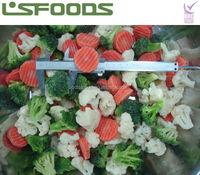 China QF frozen california mixed vegetable