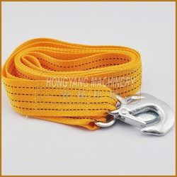 5 Ton 3M Heavy Duty Car Van Truck Steel Towing Cable Tow Rope Snatch Strap