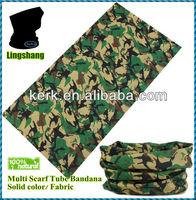 Ningbo Lingshang fashion design 2014 Printed Tubular tube scarf hip hop bandanas