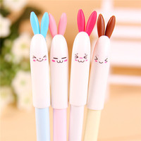 malaysia stationery manufacturers unusual pens lovely rabbit gel pen with rubber grip