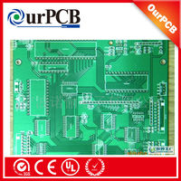 PCB with Halogen-free Material.Black soldermask led assembly fpc