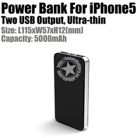 5V 2A 5000mah Slim Battery Charger For Smartphone Made in China Shenzhen