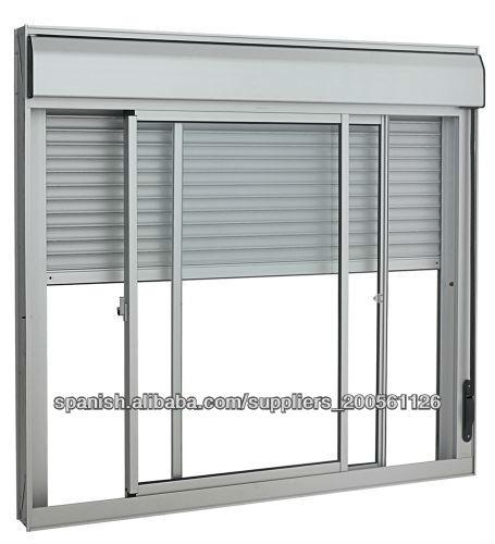 Mi casa decoracion ventanas de aluminio con persiana incorporada - Ventana con persiana integrada ...
