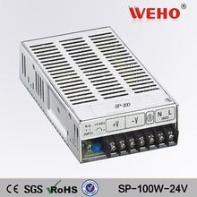 100w high voltage with PFC switch mode power supply 24v ac dc cctv/led smps