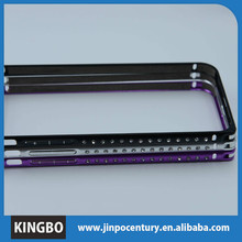Fancy diamond deff cleave bumper for iphone 6 aluminum metal bumper case