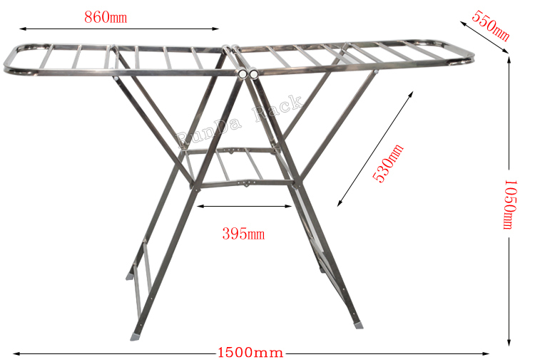 Clothing Display Stand rack show