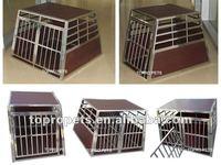 stainless steel dog cage,dog transport cage,dog transport box