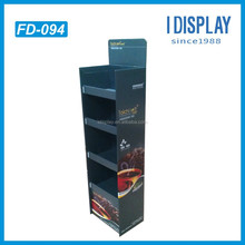 custom pop up cardboard display stand for tea products display stand