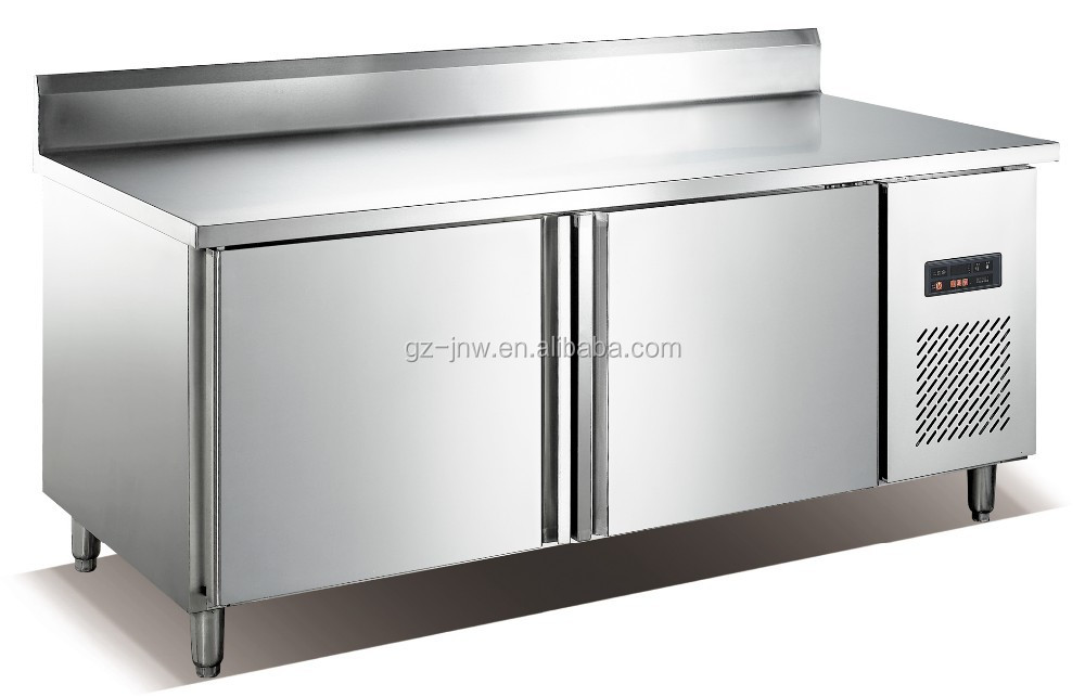 Commercial Kitchen Equipment Product ~ Stainless steel under counter fridge refrigerated work