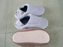over-soft pile fabric men indoor slippers