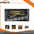 Incorporado GPS Bluetooth-Enabled 5.1 audio coche reproductor de dvd