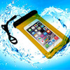 China wholesale brand new mobile phone PVC waterproof bag for Iphone 5 5S