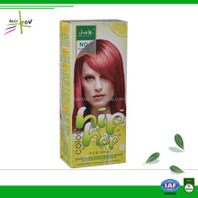 Home use iso certificated permanent ammonia free dark brown hair color pictures