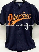 China cheapest buttoned Softball Jerseys