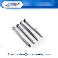 Wholesale low price standard galvanized hardened steel nail pins wire nail
