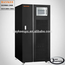 Best Aisa Baykee manufacturer single phase low frequency 100KVA dry cell battery ups , 5000 watt ups