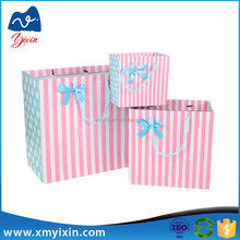 Factory customized paper gift bag with printing