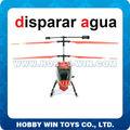 3.5 canal canción yang juguetes del helicóptero del control de radio con el disparo de agua con 2 velocidades