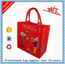 Young people large shopping bag with zipper