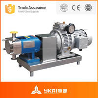 Horizontal Rotor Pump,Stainless Steel Sanitary Rotor Pump