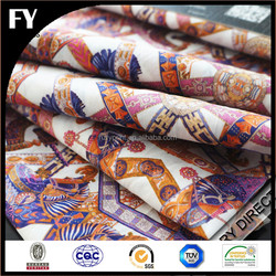 Custom design high quality digital printing 100% cotton poplin printed fabric