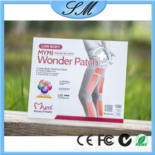 Hot selling Mymi wonder slimming patch 18pcs
