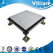 High loading capacity calcium sulphate raised access computer floor system