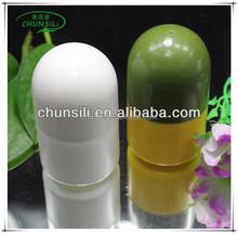 Plastic roll on empty bottle perfume for men body