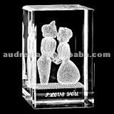 Personalized crystal wedding gift items