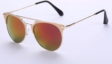 Wholesale PC Frame Material and Acrylic Lenses Material True Colors Sunglasses