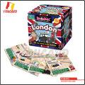 YC-BG1912 Lastes diseño niños juegos juego de monopolio