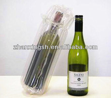 Transparent PVC Air Inflated Bag Packing Wine Bottle