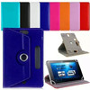 7 8 9 10.1 Inch Universal Tablet Case, 360 Degree Rotating Leather Tablet Cover Case