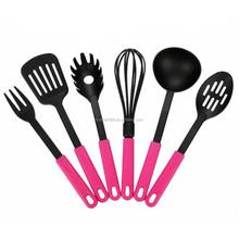 6-pieces Premium Cooking Utensil Set Nylon Tool and Gadget Set
