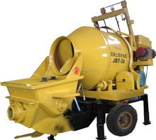 2015 hot sale portable mixer with concrete pump