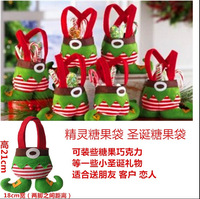 Best-selling Europe and the America Christmas gifts christmas elf candy bag