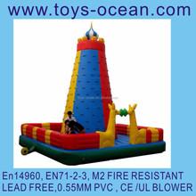 inflatable rock climbing /inflatable rock climbing wall/inflatable rock climbing toy