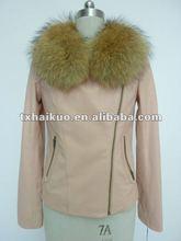 women's newest down jacket with sheep fur foe winter